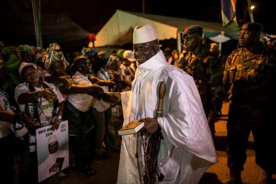 Accord de principe de Jammeh pour quitter la Gambie, discussions sur les conditions (sources proches du dossier)