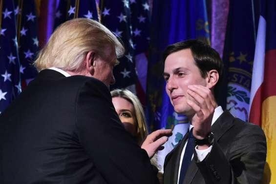 Maison Blanche: Trump nomme son gendre haut conseiller