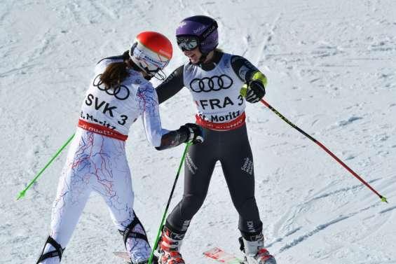 Ski: la France titrée par équipes, 1re médaille à Saint-Moritz