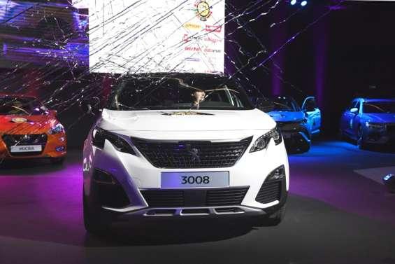 La Peugeot 3008 élue voiture européenne de l'année