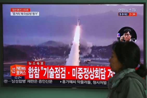 Pyongyang tire un nouveau missile avant le sommet Xi-Trump