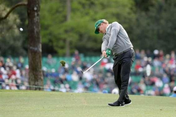 Golf: la surprise Hoffman, le choc Johnson, au 1er tour du Masters