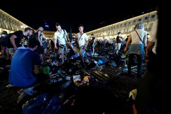 Ligue des Champions: un millier de blessés dans un mouvement de panique à Turin