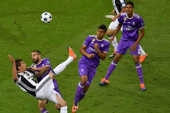 Ligue des champions: Real Madrid et Juventus, 1-1 à la mi-temps