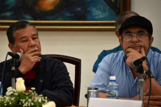 Colombie: la guérilla des Farc va lancer son parti politique