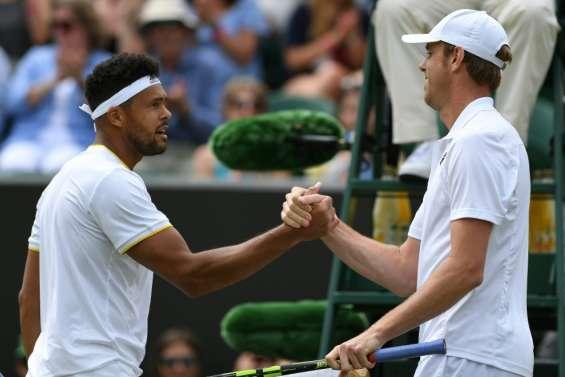 Wimbledon: Tsonga revit la même mésaventure qu'à Roland-Garros