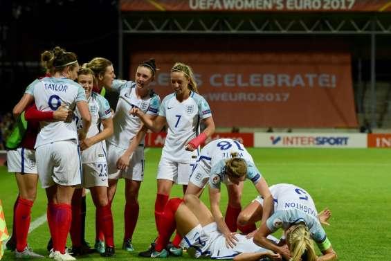 Euro: la France éliminée en quarts de finale par l'Angleterre
