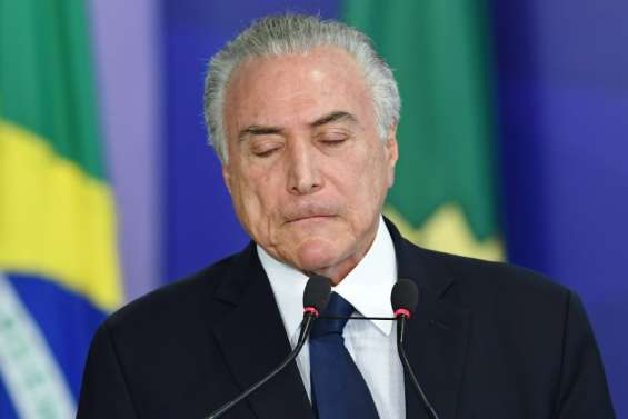 Brésil: Michel Temer, le président qui risque de perdre son mandat