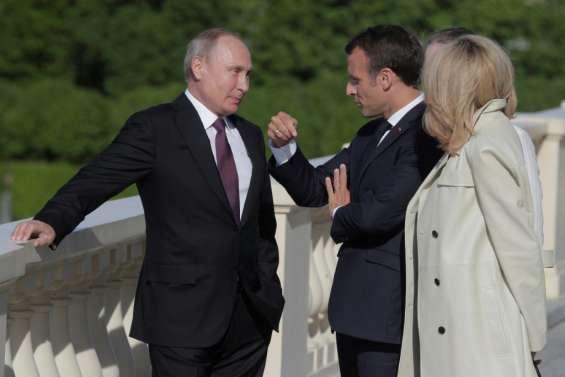 Iran, Syrie, Ukraine: Macron veut des