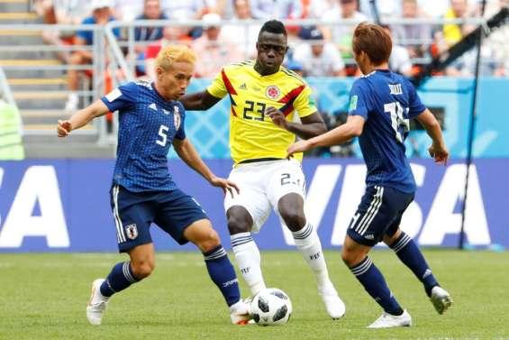 Mondial-2018: la Colombie s'écroule face au Japon, 2-1