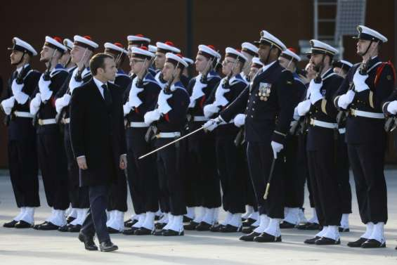 Macron réaffirme l'engagement des soldats français au Sahel et en Syrie