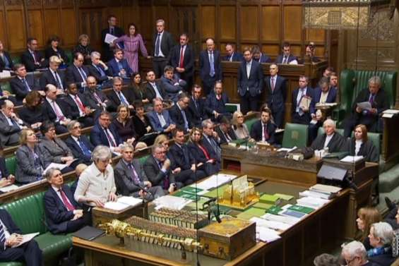 Le sort du Brexit suspendu au vote du Parlement britannique
