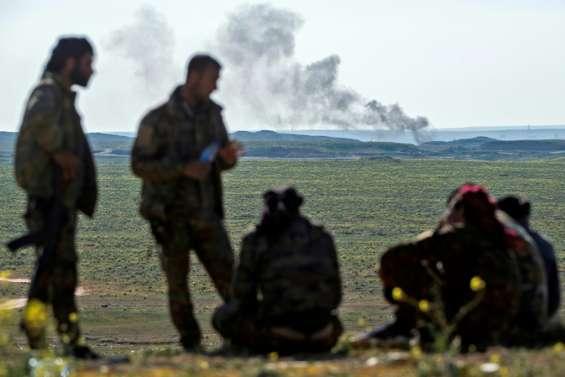 Syrie: lente progression des forces arabo-kurdes dans le dernier réduit de l'EI
