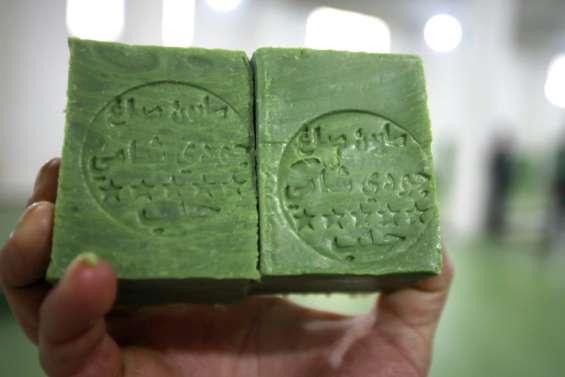 A Alep, l'industrie du savon reprend son souffle après la guerre
