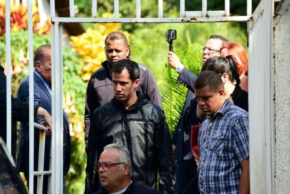 Venezuela: le bras droit de Guaido arrêté pour