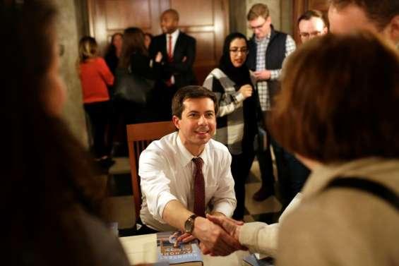 Pete Buttigieg, star montante des démocrates, en course pour la Maison Blanche