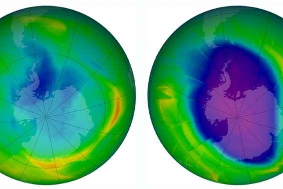 Un gaz néfaste pour la couche d'ozone, pourtant interdit, repéré en Chine (étude)