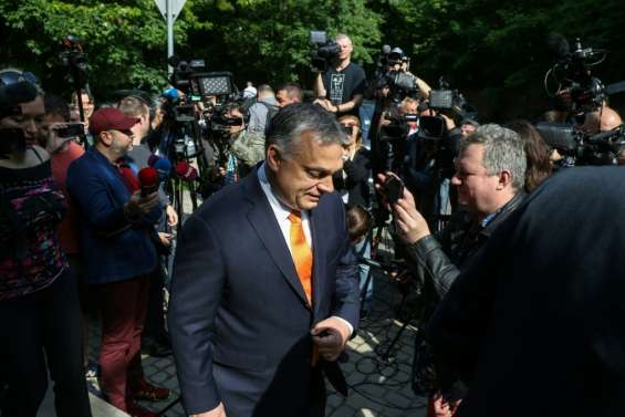 Européennes: large victoire du parti souverainiste du Hongrois Viktor Orban, selon un sondage