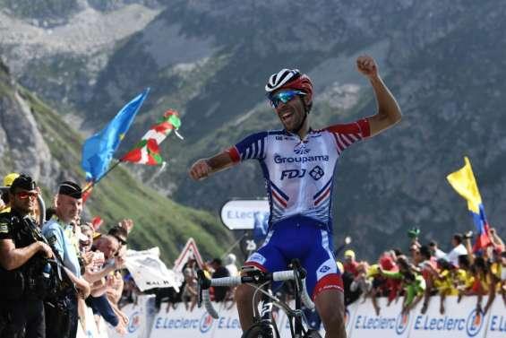 Tour de France: Pinot s'impose en haut du Tourmalet devant Alaphilippe qui reste en jaune