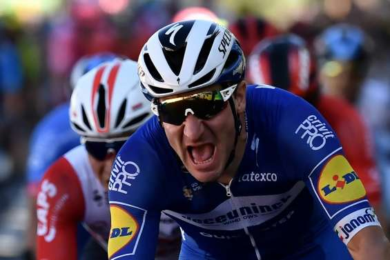 Tour de France: Viviani remporte la 4e étape, Alaphilippe reste en jaune