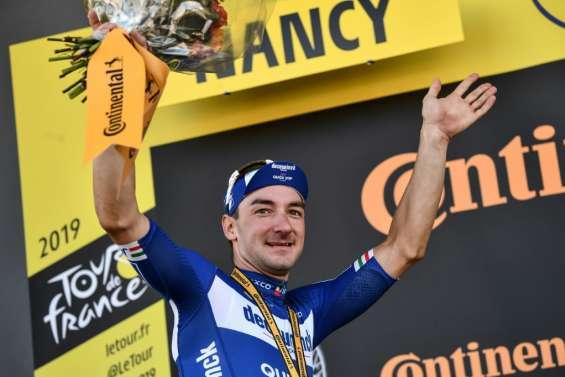 Tour de France: la fête continue pour l'équipe de Viviani