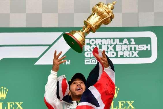 F1: de la chance et un record pour Hamilton en Grande-Bretagne !