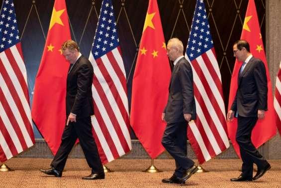 Négociations commerciales avec Pékin: Washington veut