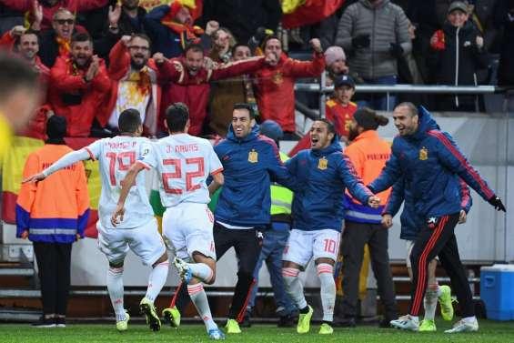 Euro-2020: l'Espagne se qualifie en arrachant le nul en Suède