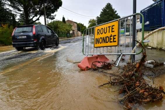 Un épisode méditerranéen intense en cours dans onze départements du sud-est