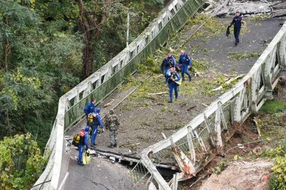 Pont effondré en Haute-Garonne: bilan de deux morts, place à l'enquête