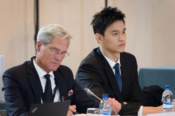 Dopage: le nageur chinois Sun conteste la validité de son contrôle devant le TAS