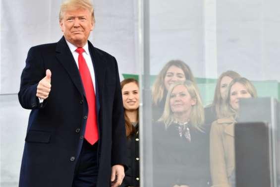 A deux pas de son procès, Trump galvanise les militants anti-avortement