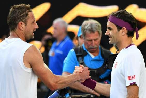 Open d'Australie: Federer en demies en sauvant 7 balles de match contre Sandgren