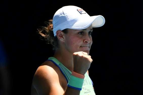 Open d'Australie: Barty prend sa revanche sur Kvitova