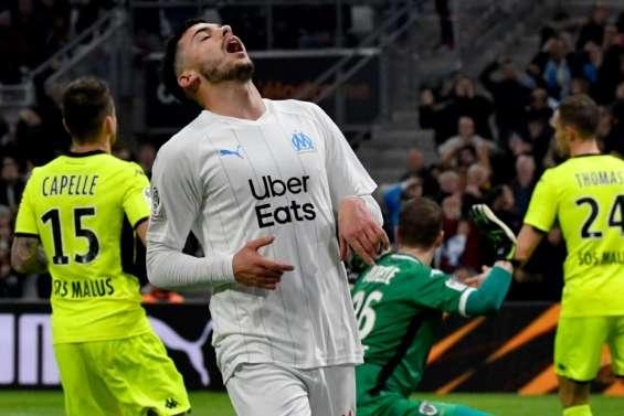 Ligue 1: Marseille freiné par Angers