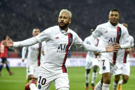 L1: Neymar à fond la forme, le Paris SG trop fort pour Lille