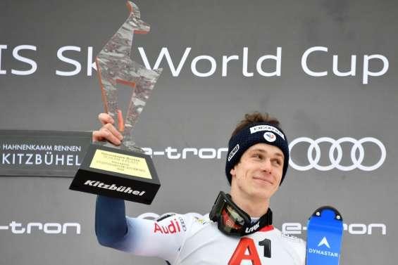 Ski alpin: Noël de nouveau sur le podium, Pinturault perd très gros à Kitzbühel