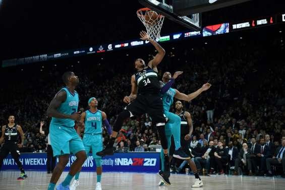 NBA Paris Game: les Bucks battent les Hornets dans un match pour l'histoire