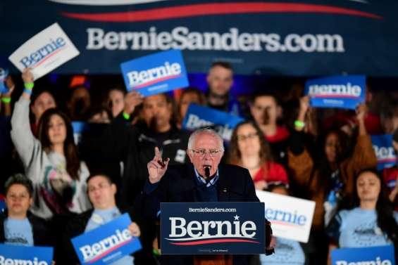 Primaires démocrates dans le Nevada, le favori Bernie Sanders joue gros