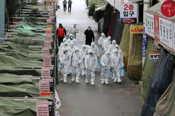 Coronavirus: en Corée du Sud, appel aux fidèles de la secte touchée à se faire dépister
