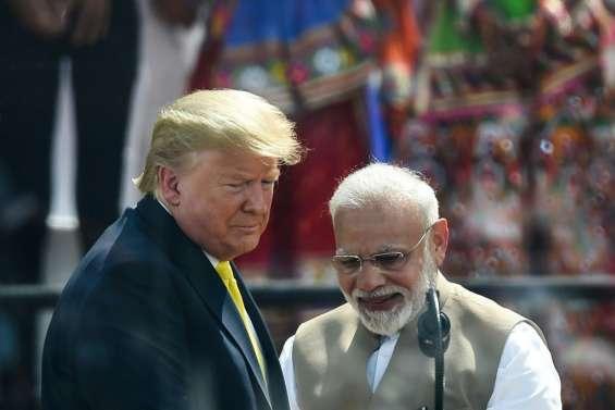 Visite de Trump en Inde: après le spectacle, les affaires reprennent