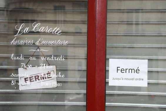 L'économie française en récession après un 1er trimestre catastrophique