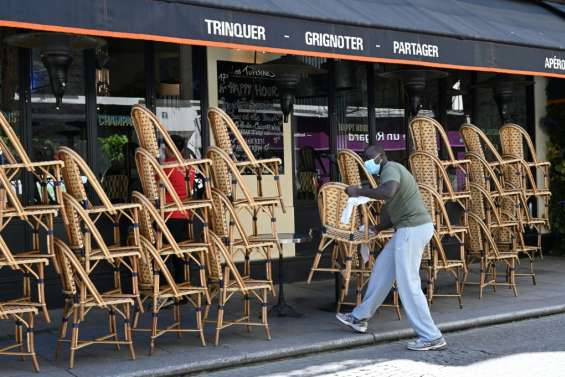 A Paris, maxi-terrasses pour les cafés et les restaurants le 2 juin