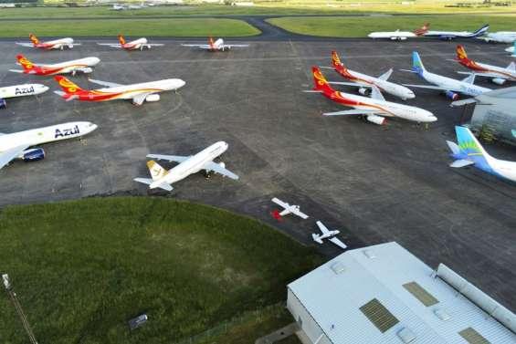 Châteauroux: l'aéroport qui ne connait pas la crise