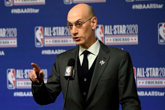 NBA: Silver veut reprendre la saison le 31 juillet