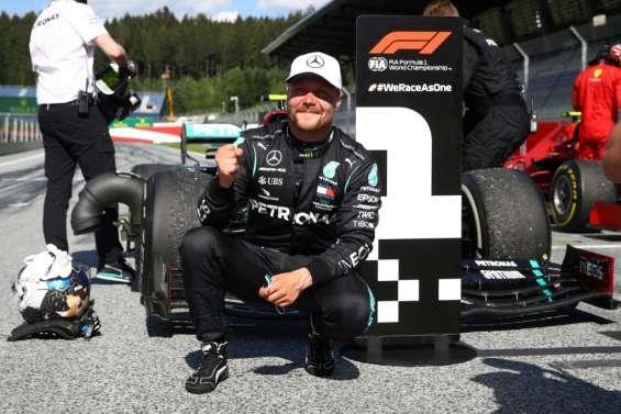 F1: Bottas (Mercedes) gagne le 1er GP de la saison à huis clos en Autriche