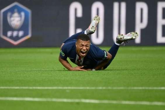 Coupe de France: Mbappé sort blessé à moins de trois semaines de la C1