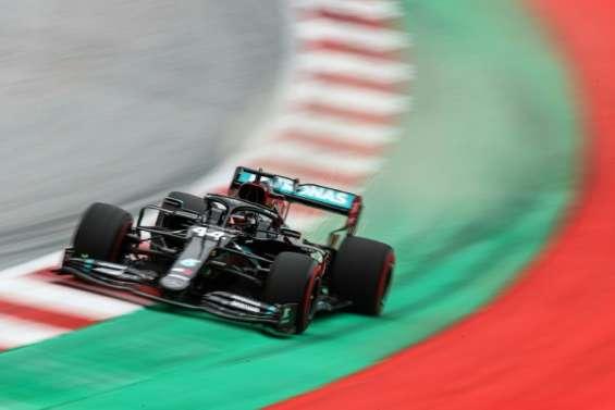 F1: Hamilton et Mercedes au rendez-vous des premiers essais libres en Autriche