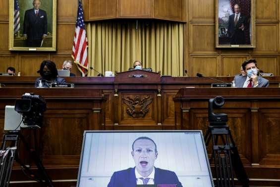 Google, Apple, Facebook et Amazon sermonnés par les politiques américains