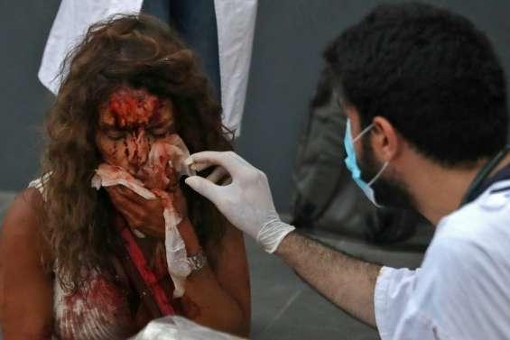 A Beyrouth, scènes de chaos dans les hôpitaux saturés